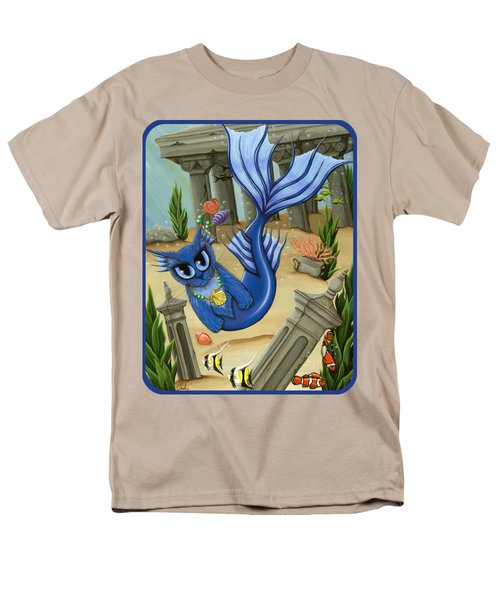 Atlantean Mercat Men's T-Shirt  (Regular Fit) by Carrie Hawks