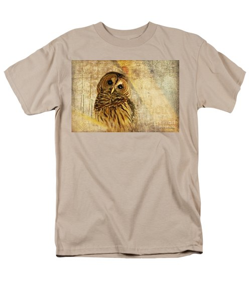 Barred Owl T-Shirt by Lois Bryan