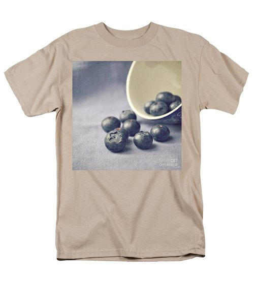 Bowl Of Blueberries Men's T-Shirt  (Regular Fit) by Lyn Randle