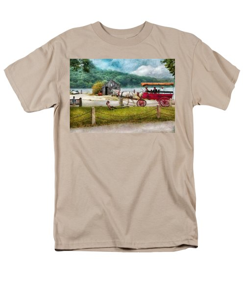 Car - Wagon - Traveling in style T-Shirt by Mike Savad
