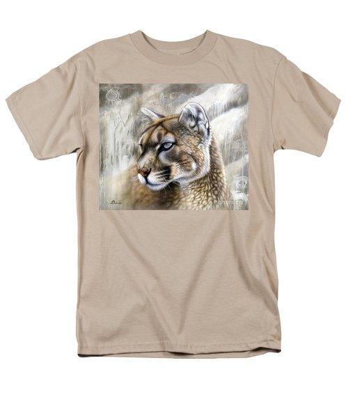 Catamount Men's T-Shirt  (Regular Fit) by Sandi Baker