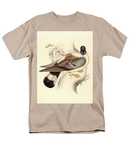 Columba Leuconota, Snow Pigeon Men's T-Shirt  (Regular Fit) by Elizabeth Gould