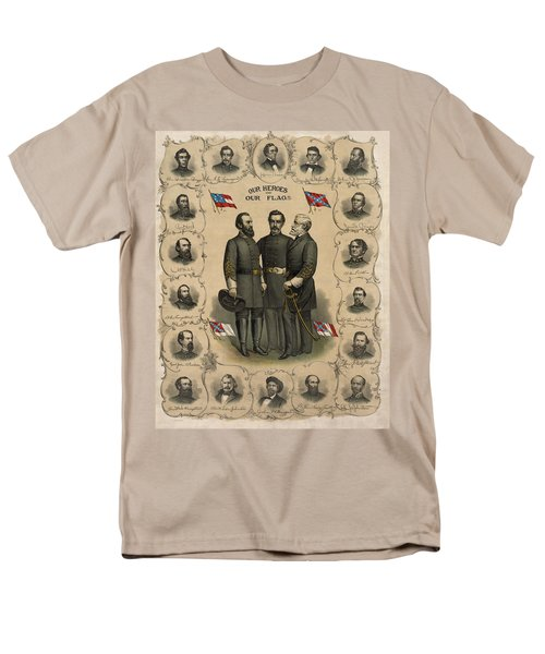 Confederate Generals of The Civil War T-Shirt by War Is Hell Store