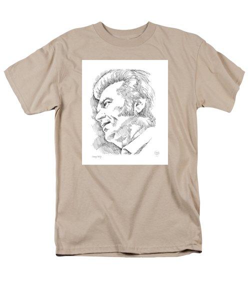 Conway Twitty Men's T-Shirt  (Regular Fit) by Greg Joens