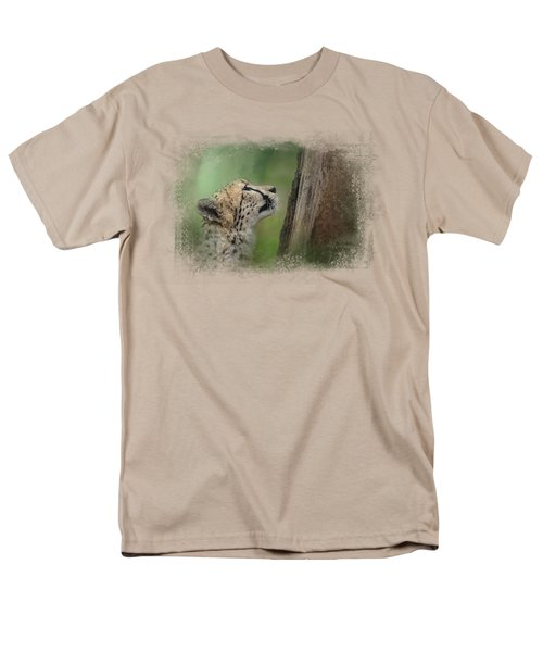 Facing Challenges Men's T-Shirt  (Regular Fit) by Jai Johnson