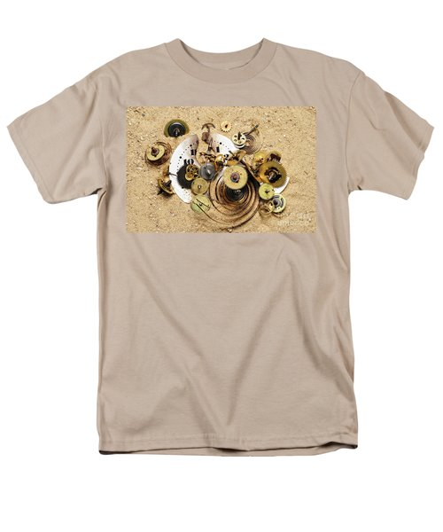 fragmented clockwork in the sand T-Shirt by Michal Boubin