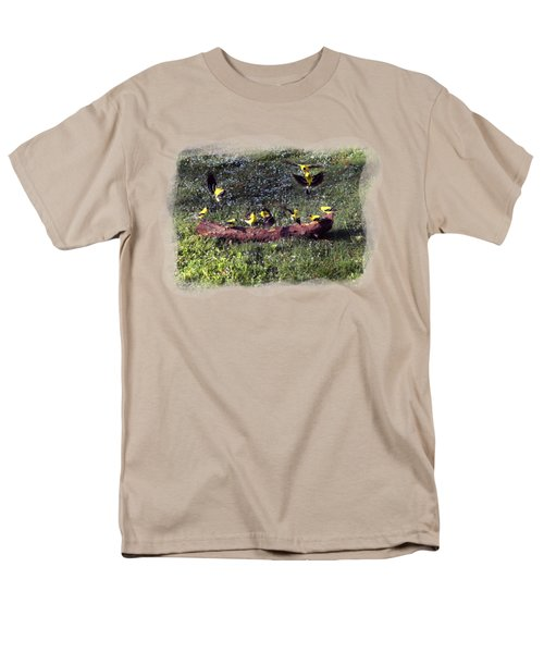 Goldfinch Convention Men's T-Shirt  (Regular Fit) by Nick Kloepping