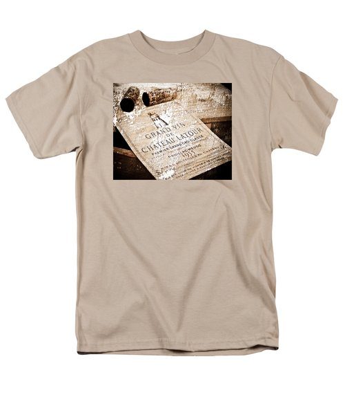 Great Wines Of Bordeaux - Chateau Latour 1955 T-Shirt by Frank Tschakert