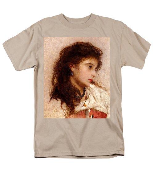 Gypsy Girl T-Shirt by George Elgar Hicks