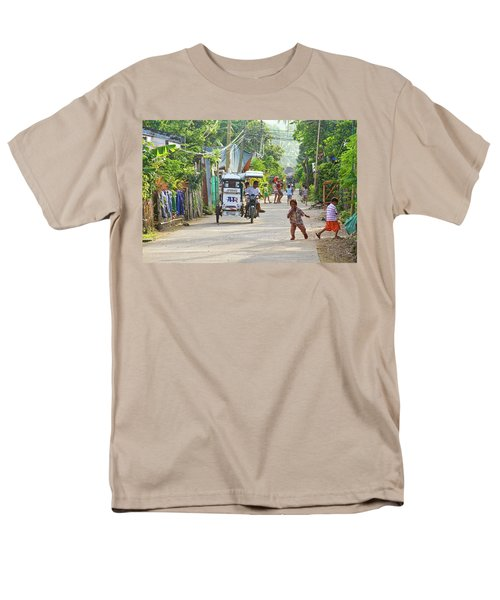 Happy Philippine Street Scene T-Shirt by James BO  Insogna