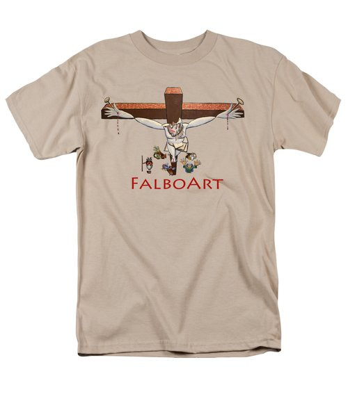 I Sacrificed My Life For You Men's T-Shirt  (Regular Fit) by Anthony Falbo