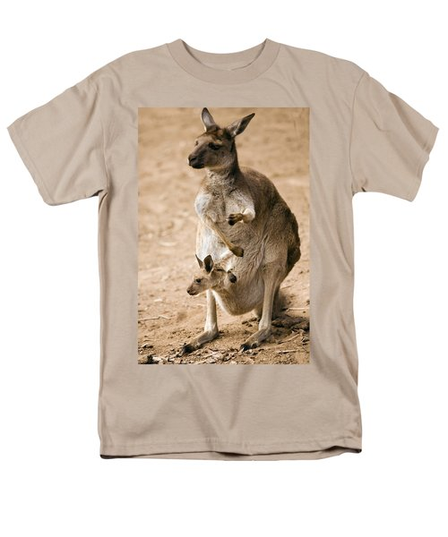 In  Mother's Care Men's T-Shirt  (Regular Fit) by Mike  Dawson