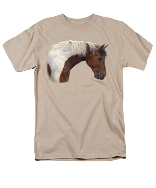 Intrigued Men's T-Shirt  (Regular Fit) by Lucie Bilodeau