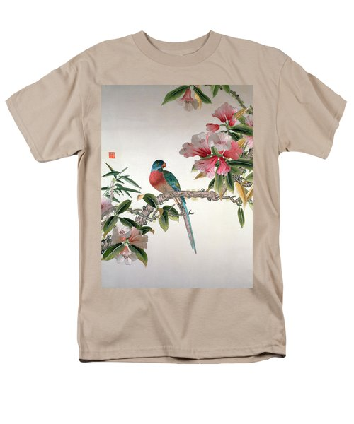 Jay On A Flowering Branch Men's T-Shirt  (Regular Fit) by Chinese School