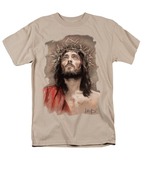 Jesus  Men's T-Shirt  (Regular Fit) by Melanie D