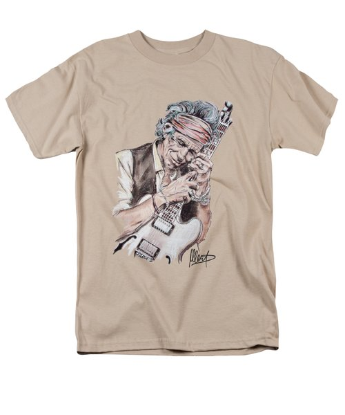 Keith Richards Men's T-Shirt  (Regular Fit) by Melanie D