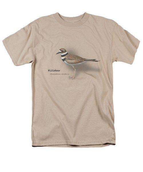 Killdeer - Charadrius Vociferus - Transparent Design Men's T-Shirt  (Regular Fit) by Mitch Spence