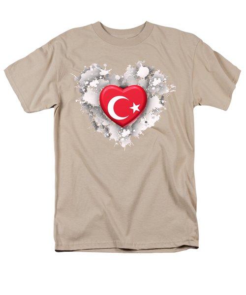Love Turkey Men's T-Shirt  (Regular Fit) by Alberto RuiZ