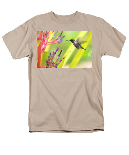 Male Anna's Hummingbird T-Shirt by Mike Herdering