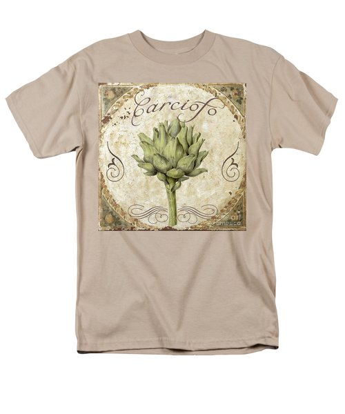 Mangia Carciofo Artichoke Men's T-Shirt  (Regular Fit) by Mindy Sommers