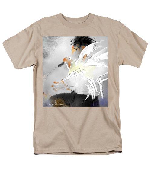 Michael Jackson 08 Men's T-Shirt  (Regular Fit) by Miki De Goodaboom