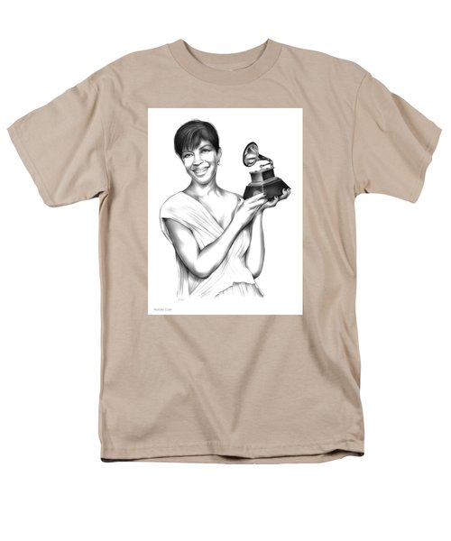 Natalie Cole Men's T-Shirt  (Regular Fit) by Greg Joens