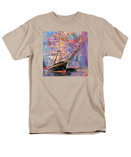 Old Ship 226 4 Men's T-Shirt  (Regular Fit) by Mawra Tahreem