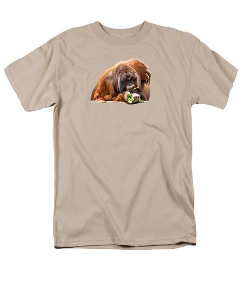 Orangutan Men's T-Shirt  (Regular Fit) by Maria Coulson