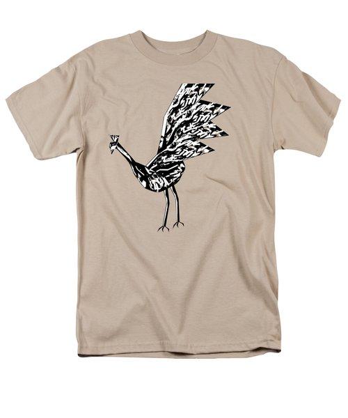 Peacock Dance B Men's T-Shirt  (Regular Fit) by Thecla Correya