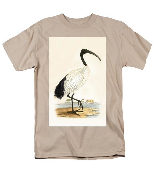 Sacred Ibis Men's T-Shirt  (Regular Fit) by English School
