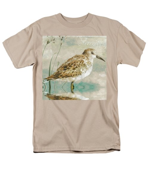 Sandpiper I Men's T-Shirt  (Regular Fit) by Mindy Sommers