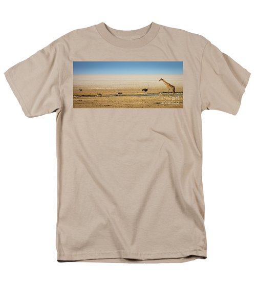 Savanna Life Men's T-Shirt  (Regular Fit) by Inge Johnsson