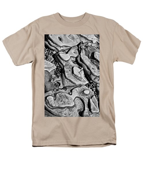 Sea shaped stones T-Shirt by Garry Gay