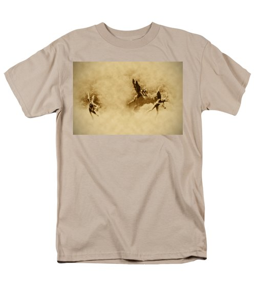 Song of the Angels in Sepia T-Shirt by Bill Cannon