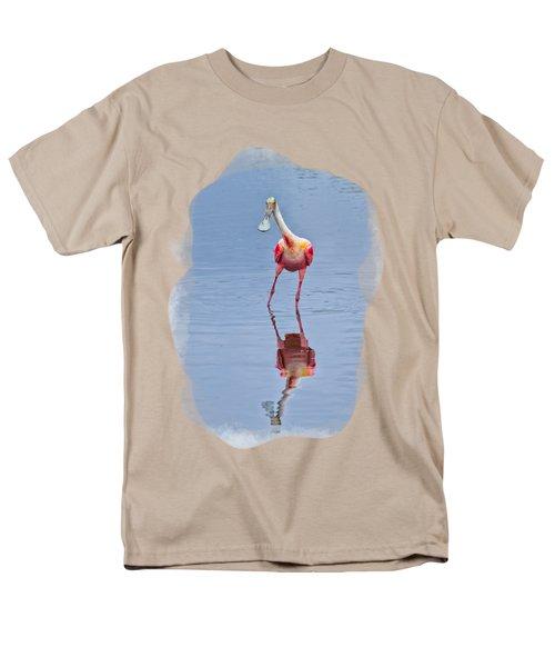 Spoonbill 1 Men's T-Shirt  (Regular Fit) by John M Bailey