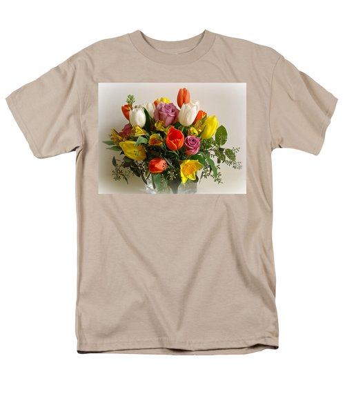 Spring Flowers T-Shirt by Sandy Keeton