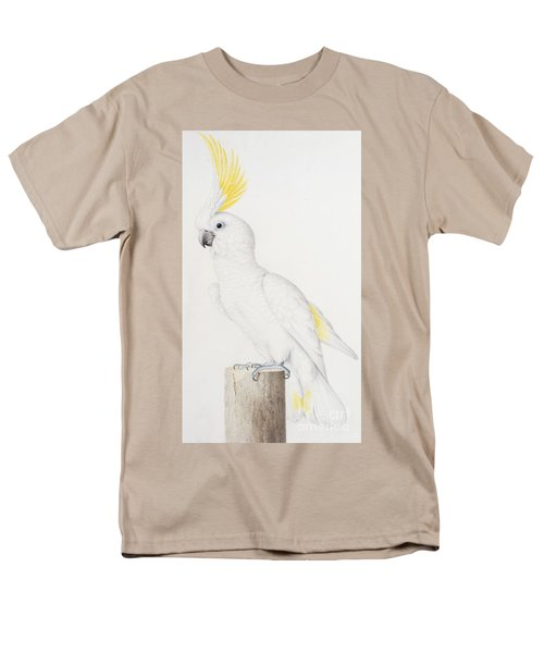Sulphur Crested Cockatoo Men's T-Shirt  (Regular Fit) by Nicolas Robert