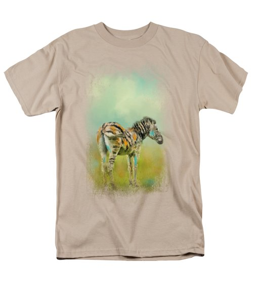 Summer Zebra 1 Men's T-Shirt  (Regular Fit) by Jai Johnson