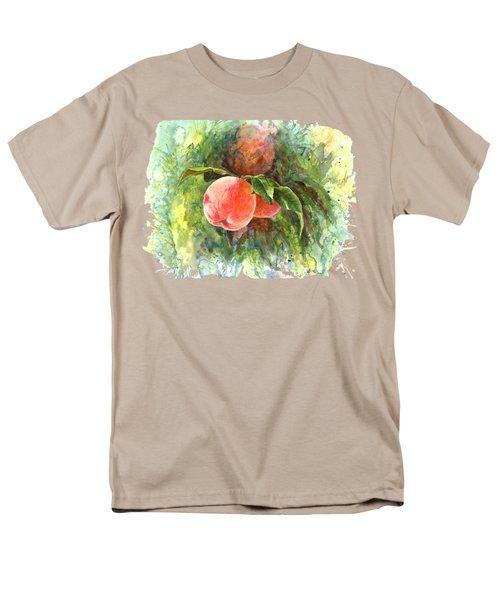 Sunny Peaches Men's T-Shirt  (Regular Fit) by Irina Viatkina