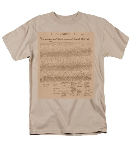 The Declaration of Independence T-Shirt by War Is Hell Store