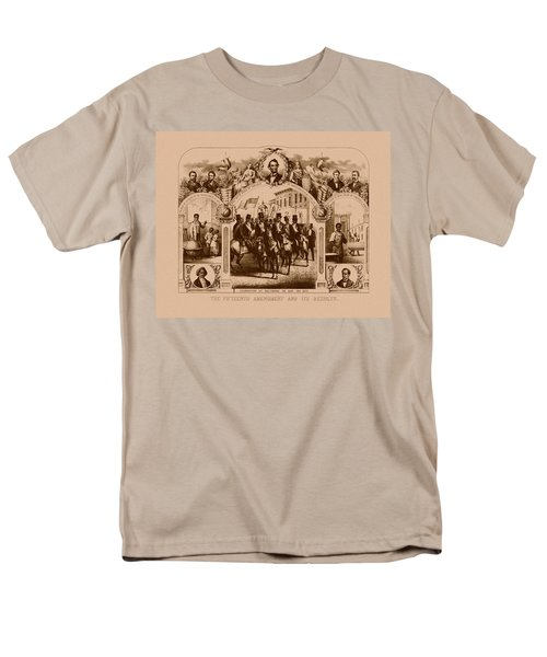 The Fifteenth Amendment And Its Results T-Shirt by War Is Hell Store