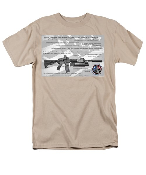 The Right To Bear Arms Men's T-Shirt  (Regular Fit) by Daniel Hagerman