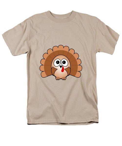 Turkey - Birds - Art For Kids Men's T-Shirt  (Regular Fit) by Anastasiya Malakhova