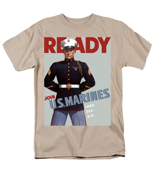 US Marines Ready T-Shirt by War Is Hell Store