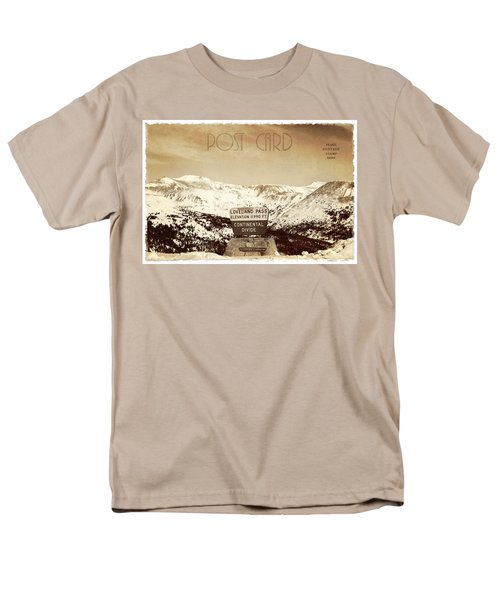 Vintage Style Post Card from Loveland Pass T-Shirt by Juli Scalzi
