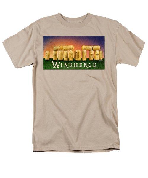 Winehenge Men's T-Shirt  (Regular Fit) by Will Bullas