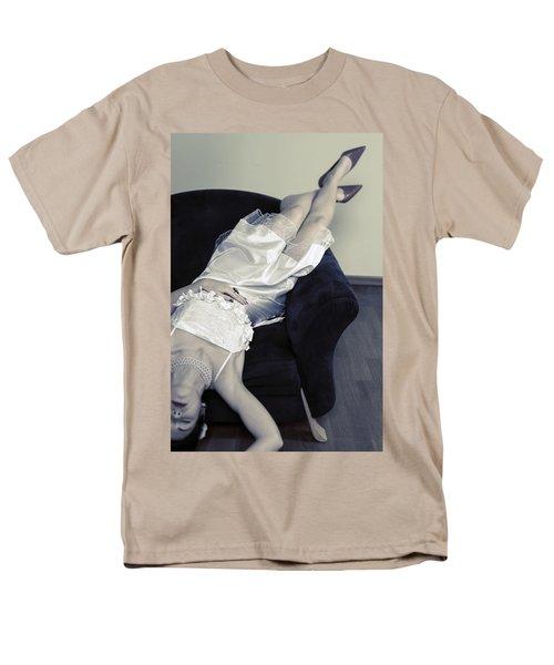 woman lying on chair T-Shirt by Joana Kruse