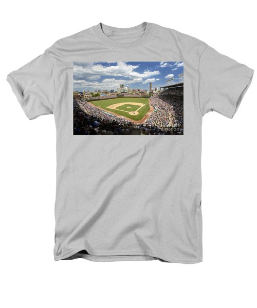 0415 Wrigley Field Chicago Men's T-Shirt  (Regular Fit) by Steve Sturgill