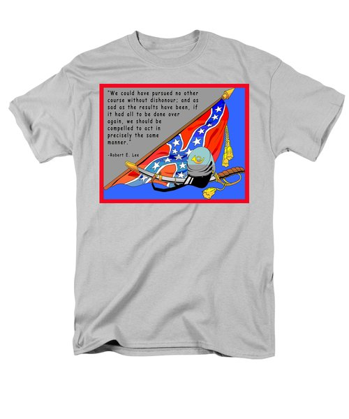 Confederate States Of America Robert E Lee T-Shirt by Digital Creation