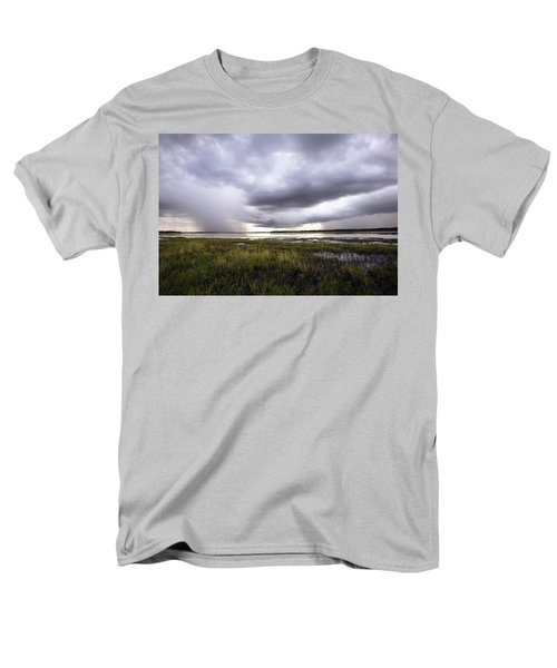 Summer Storm Over the Lake T-Shirt by Skip Nall